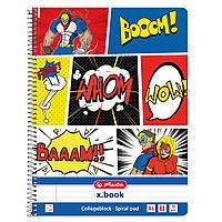 Блокнот Herlitz А4 80 листов линия Comic Whom (50016518)