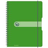 Блокнот Herlitz А4 80 листов Easy Orga To Go клетка салатовый пластиковая обложка (11293099), фото 1
