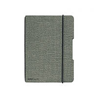 Блокнот Herlitz My.Book Flex Canvas А5 40 листов клетка текстильная обложка черный крепеж (11361771), фото 1