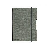 Блокнот Herlitz My.Book Flex Canvas А5 40 листов клетка текстильная обложка черный крепеж (11361771)