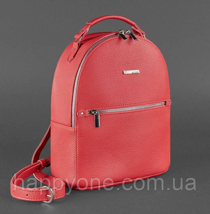 """Кожаный мини-рюкзак """"Рубин"""""""
