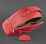"Кожаный мини-рюкзак ""Рубин"", фото 3"