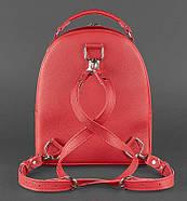 "Кожаный мини-рюкзак ""Рубин"", фото 4"