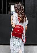 "Кожаный мини-рюкзак ""Рубин"", фото 6"
