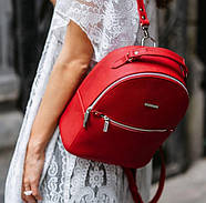 "Кожаный мини-рюкзак ""Рубин"", фото 7"