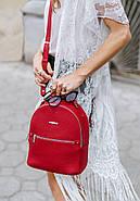 "Кожаный мини-рюкзак ""Рубин"", фото 9"