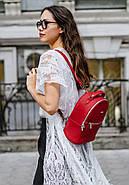 "Кожаный мини-рюкзак ""Рубин"", фото 10"