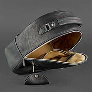 """Кожаный мини-рюкзак """"Оникс"""", фото 4"""
