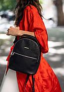 """Кожаный мини-рюкзак """"Оникс"""", фото 5"""