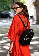 """Кожаный мини-рюкзак """"Оникс"""", фото 7"""
