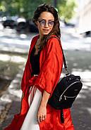 """Кожаный мини-рюкзак """"Оникс"""", фото 8"""