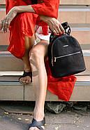 """Кожаный мини-рюкзак """"Оникс"""", фото 9"""
