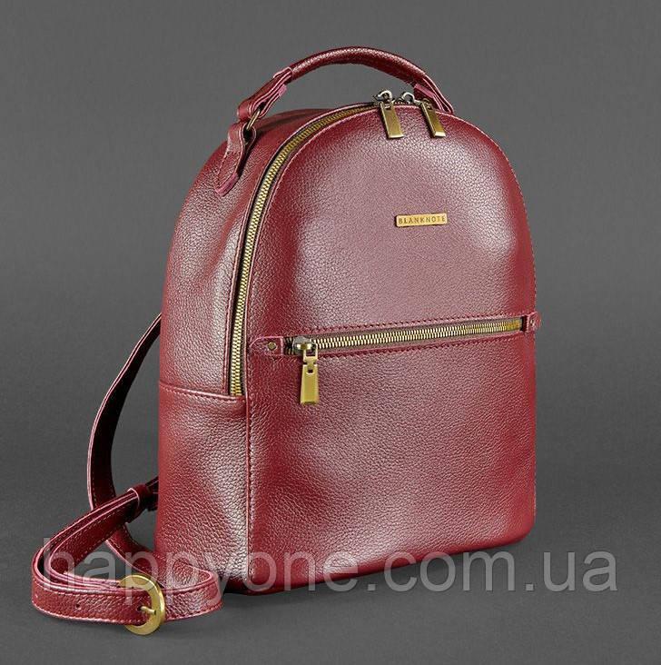 """Кожаный мини-рюкзак """"Марсала"""""""