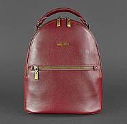 """Кожаный мини-рюкзак """"Марсала"""", фото 2"""