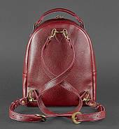 """Кожаный мини-рюкзак """"Марсала"""", фото 3"""