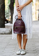 """Кожаный мини-рюкзак """"Марсала"""", фото 8"""