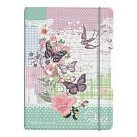 Блокнот Herlitz My.Book Flex PP А5 40 листов Ladylike Butterfly клетка пластиковая обложка (11361656), фото 1