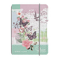 Блокнот Herlitz My.Book Flex PP А6 40 листов Ladylike Butterfly клетка пластиковая обложка (11361714), фото 1