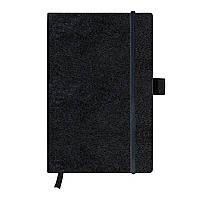 Записная книга Herlitz А5 96л My.Book Classic Black клетка обложка имитация кожи (10789428), фото 1