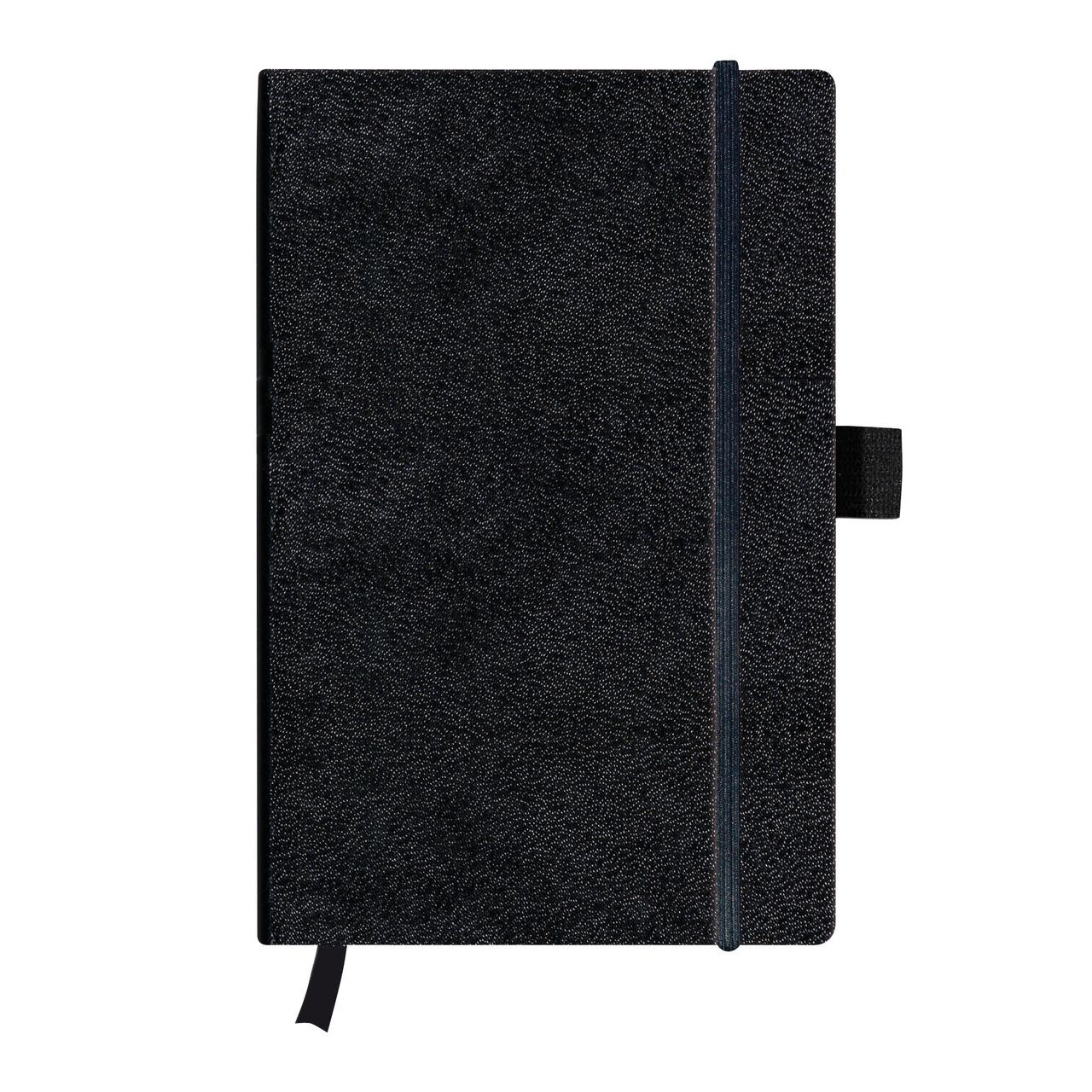 Записная книга Herlitz А5 96л My.Book Classic Black клетка обложка имитация кожи (10789428)