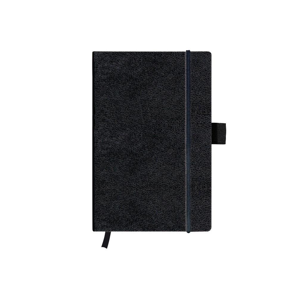 Записная книга Herlitz А6 96л My.Book Classic Black клетка обложка имитация кожи (10789436)