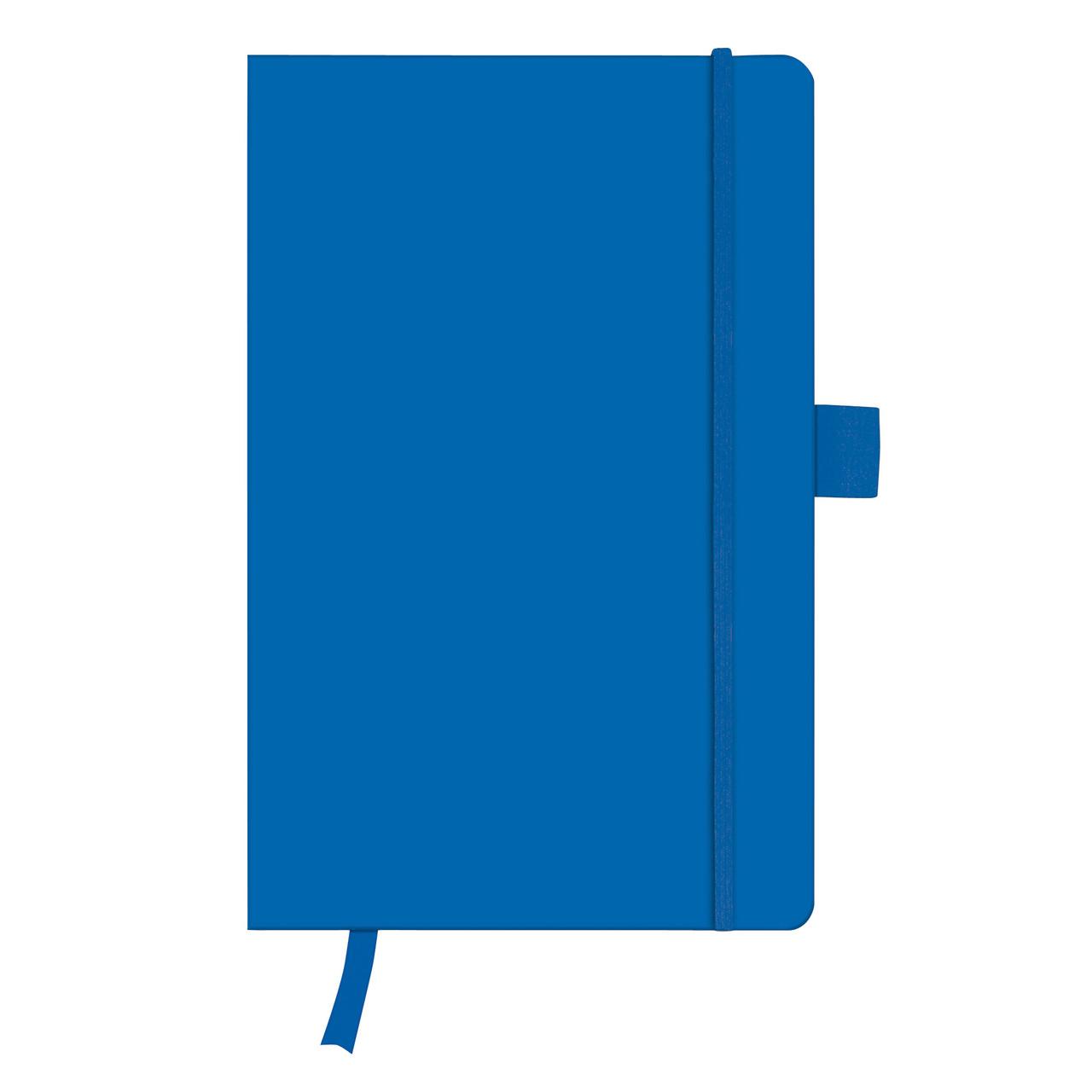 Записная книга Herlitz А5 96л My.Book Classic Blue клетка обложка имитация кожи (11369097)