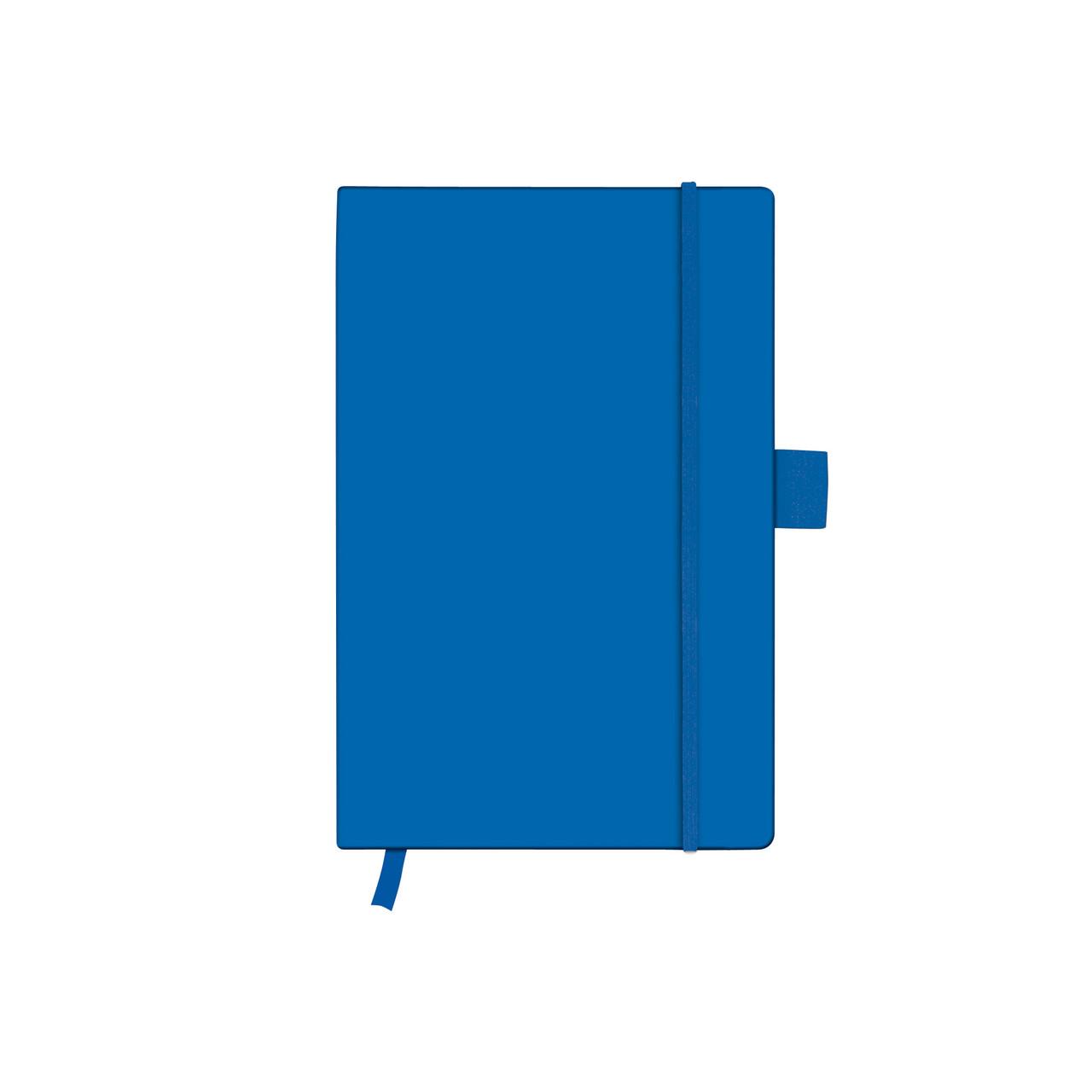 Записная книга Herlitz А6 96л My.Book Classic Blue клетка обложка имитация кожи (11369162)