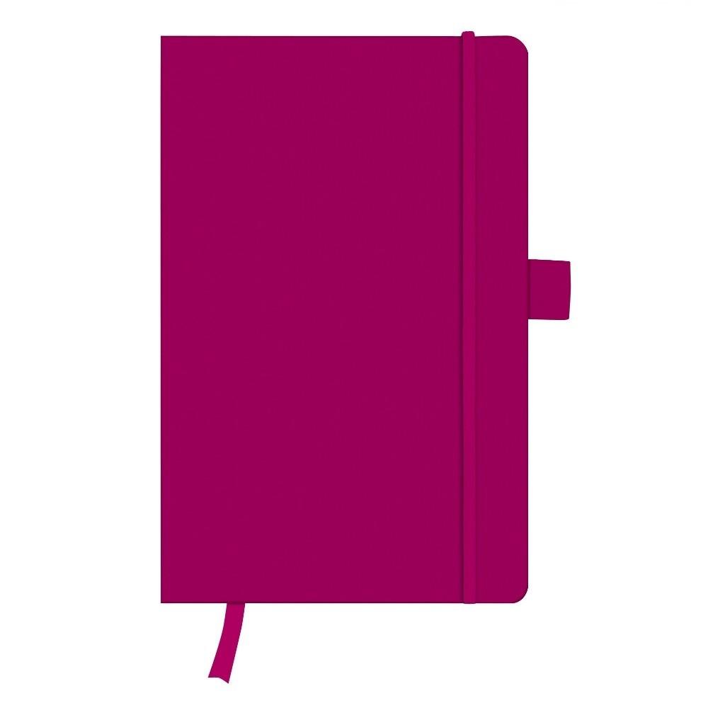 Записная книга Herlitz А5 96л My.Book Classic Berry клетка обложка имитация кожи (11369071)