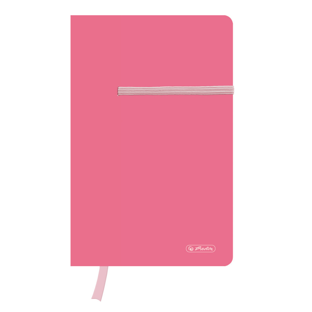 Записная книга Herlitz А5 88л Colour Blocking Indonesia Pink розовая (50015979)