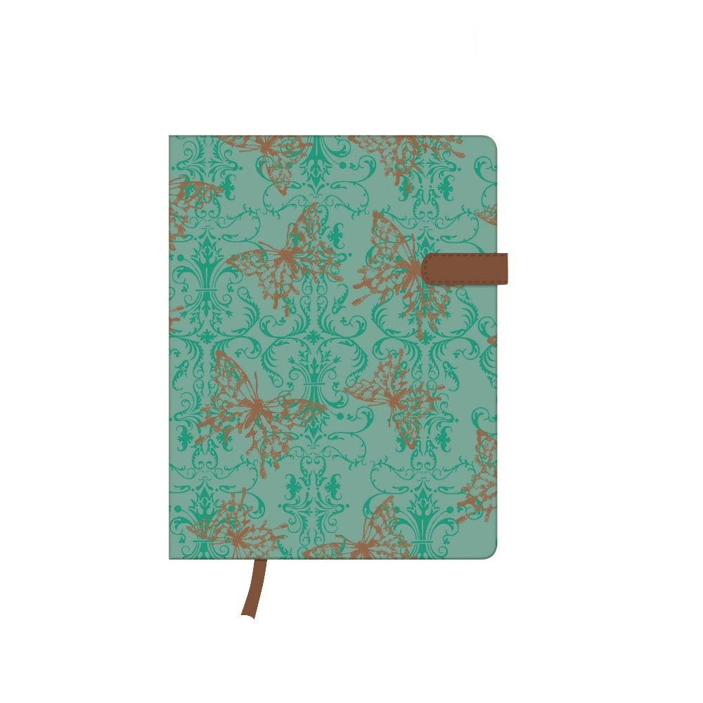 Записная книга Herlitz А6 96л My.Book Lady Butterfly линия (11369766)