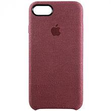 Чехол Alcantara Cover Apple iPhone 8 (пыльная роза)