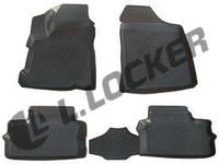 Коврики  в машину Chery IndiS (S18D) (10-) 3D, Lada Locker