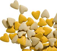 Витамины-сердечки Gimpet Schnurries для кошек, с курицей, 1 шт.