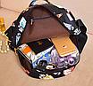 Рюкзак женский кожзам Цветочный принт Белый, фото 7