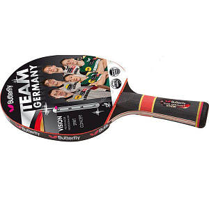 Ракетка для настольного тенниса Butterfly Team Germany Vision, код: 85092