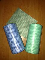 Салфетка 20х20 см (100 шт/рул), спанлейс-сетка,  рулон с перфорацией