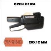 Этикет-пистолет Open С10/А (однострочный)