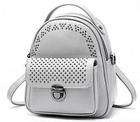 Рюкзак женский трансформер ENLIAN Серый, фото 1