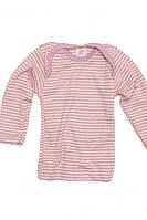 Термокофта с длинным рукавом Engel шелк/шерсть розовая, фото 1