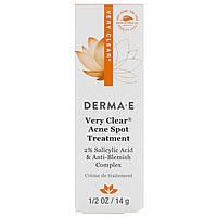 Derma E, Исключительно прозрачное средство для устранения пятен акне, 14 г, фото 1
