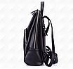 Рюкзак женский кожаный Hilary Черный, фото 6