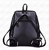 Рюкзак женский кожаный Hilary Черный, фото 5