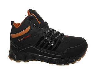 Кросівки зимові підліткові Sayota 9155-2 чорний