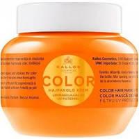 Kallos Color Маска для окраш. волос с маслом льна, 275 мл