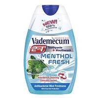 Vademecum Menthol Fresh зубная паста 2-в-1, 75 мл
