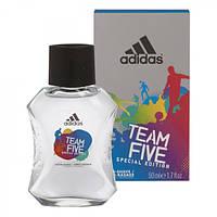 Adidas Team Five лосьон после бритья, 100 мл