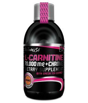 BioTech L-Carnitine 70 000 + chrome 500 мл