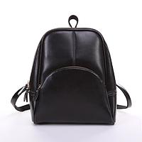 Рюкзак женский кожаный Hilary Черный, фото 1