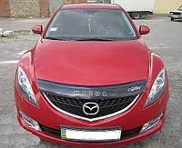 Дефлектор капота Mazda 6 с 2008 г.в. (Мазда 6) Vip Tuning