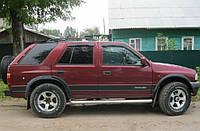 Дефлекторы боковых стекол Opel Frontera A 1992-1998 (Опель Фронтера) Cobra Tuning